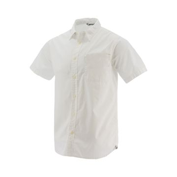 Camisas Poplin Stand S/S (110) White