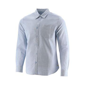 Camisas Foundation L/S Oxfor (586) Light Blue