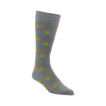 Calcetines Mens Fruit Bowl Fash (122) Heather Grey
