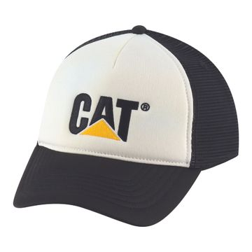 Cachuchas Contrast Cat Hat (110) White
