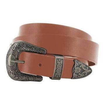 Cinturones Double Buckle Belt (112) Tan