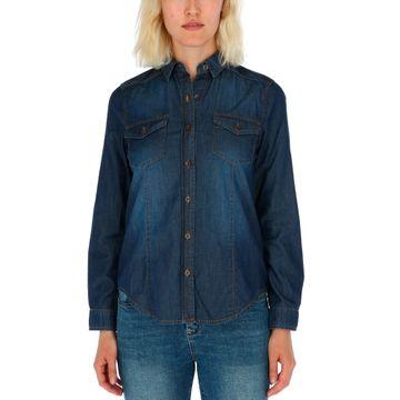 Camisas Sofia L/S Denim Shir (136) Dark Wash