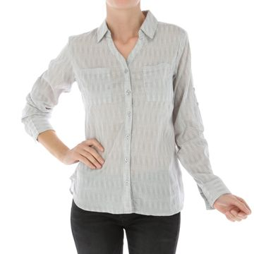 Camisas Claire L/S Shirt (582) Grey Dust
