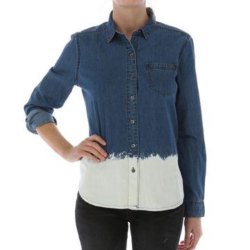 Camisas Bleach Dipped Denim (261) Bleach Wash