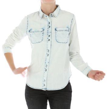 Camisas Classic Ls Denim Sh (261) Bleach Wash