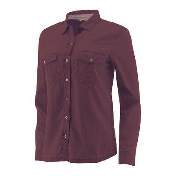 Camisas Sloan L/S Woven Shir Mauve Wine