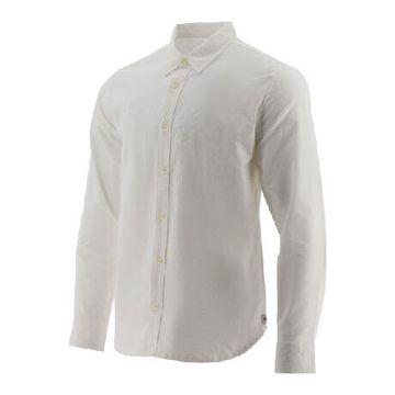 Camisas Foundation L/S Conve (110) White