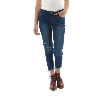 Pantalones Studded Slim Pant (297) Vintage Wash