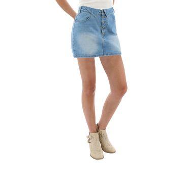 Faldas Delilah Skirt (135) Light Wash