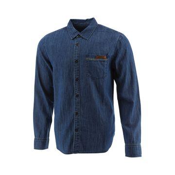 Camisas Foundation M/L Denim Standard Stone